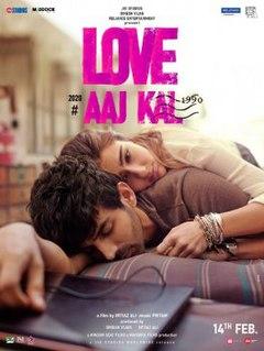 <i>Love Aaj Kal</i> (2020 film) Hindi-language romantic drama film by Imtiaz Ali