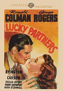 <i>Lucky Partners</i> 1940 American film