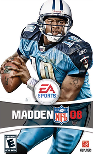 <i>Madden NFL 08</i> 2007 American football video game