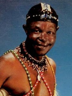 Mahlathini South African musician
