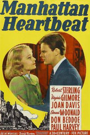 Manhattan Heartbeat - Theatrical release poster