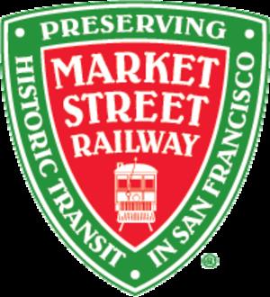 Market Street Railway (nonprofit) - Image: Market Street Railway Logo