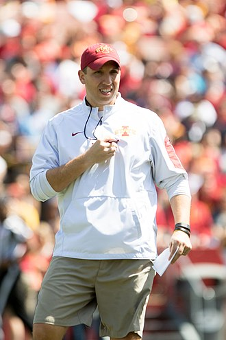 Iowa State Cyclones football - Head coach Matt Campbell