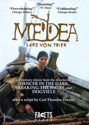 Medea (1988 film) - Image: Medea (Lars von Trier film) poster art
