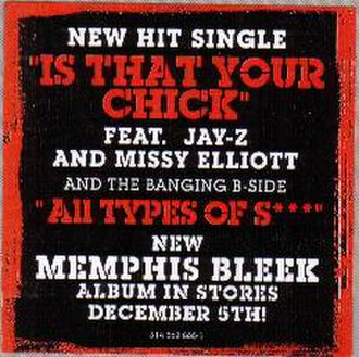 Is That Your Chick (The Lost Verses) - Image: Memphis Bleek Is That Your Chick