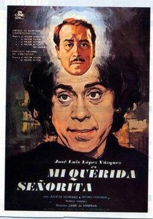 My Dearest Senorita - Spanish film poster