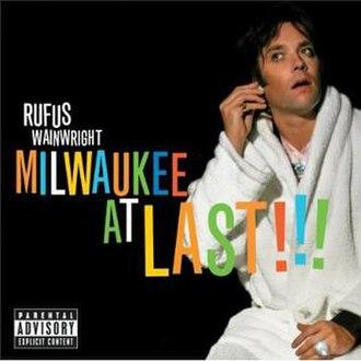 Milwaukee at Last!!! - Image: Milwaukee at Last alternate cover