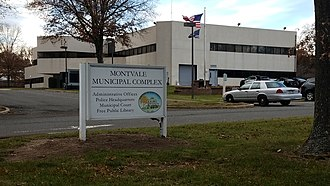 Montvale, New Jersey - Montvale borough hall