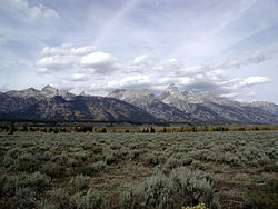 Moose, Wyoming from US 189