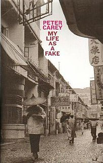 <i>My Life as a Fake</i> book by Peter Carey