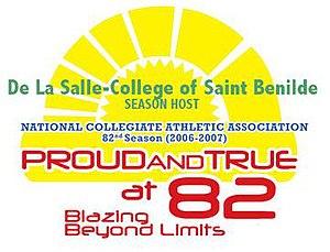 NCAA Season 82 - Image: NCAA@82