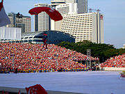 Member of the SAF parachute team, NDP 2005