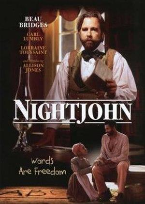 Nightjohn (film) - Image: Nightjohn Film Poster