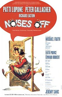 <i>Noises Off</i> 1982 play written by Michael Frayn