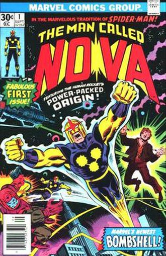 Nova (Richard Rider) - Image: Nova 1 (1976)