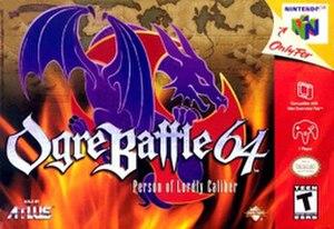 Ogre Battle 64: Person of Lordly Caliber - Image: Ogre Battle 64