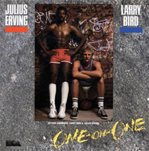 One on One: Dr. J vs. Larry Bird - Cover art