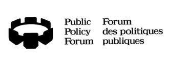 Public Policy Forum - Image: PPF LOGO black crown larger