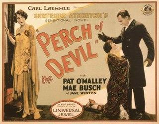 <i>Perch of the Devil</i> 1927 silent film