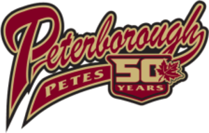 Peterborough Petes - Image: Peterborough Petes 50th
