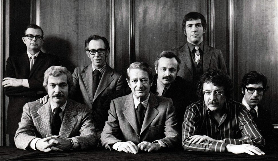 Playboy Staff in 1970