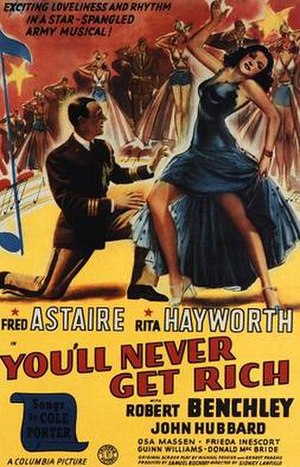 You'll Never Get Rich - Theatrical poster