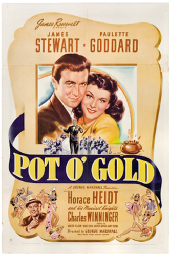 Pot o' Gold (film) - 1941 Theatrical poster