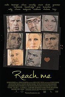 <i>Reach Me</i> 2014 American romantic action comedy crime drama film directed by John Herzfeld