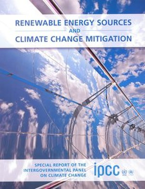 Renewable Energy Sources and Climate Change Mitigation - Image: Renewable Energy Sources and Climate Change Mitigation