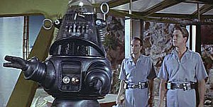 Robby the Robot - Robby the Robot in a scene from Forbidden Planet