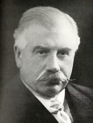 Queen's Hall - Robert Newman, manager of the Queen's Hall Orchestra from 1893 to 1926