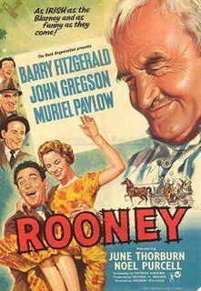 <i>Rooney</i> (film) 1958 film by George Pollock