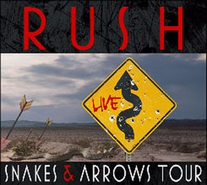 Snakes & Arrows Tour - Image: Rush Snakes & Arrows 2008 tour
