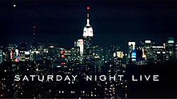 The title card for the thirty-first season of Saturday Night Live.