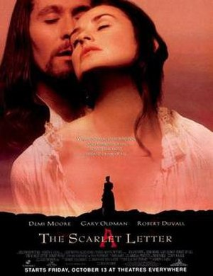 The Scarlet Letter (1995 film) - Theatrical release poster