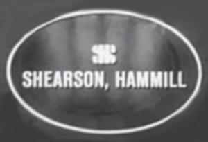 Shearson - Shearson, Hammill logo ca. 1960