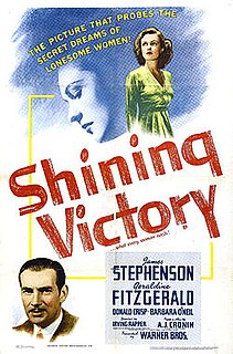 <i>Shining Victory</i> 1941 film by Irving Rapper