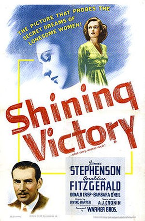 Shining Victory - Movie poster