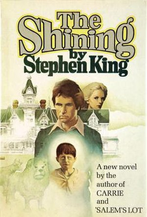The Stanley Hotel - Cover of The Shining, first edition, 1977