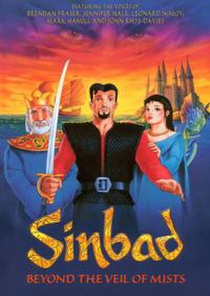 Sinbad: Beyond the Veil of Mists - Release poster