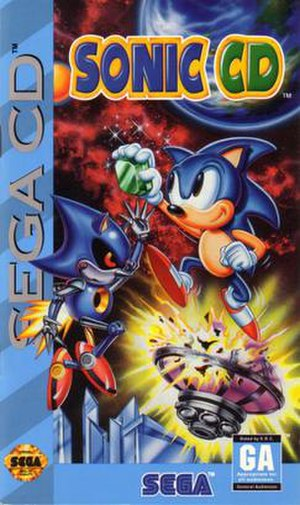 Sonic CD - North American cover art