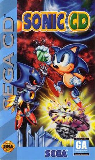 Sonic CD - North American cover art