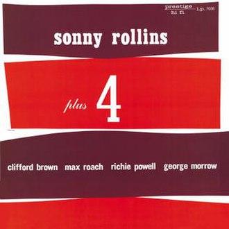 Sonny Rollins Plus 4 - Image: Sonny Rollins Plus Four Posters
