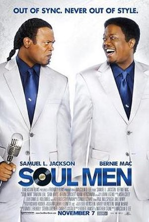 Soul Men - Theatrical release poster