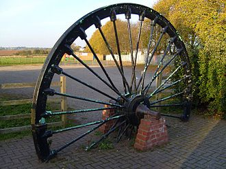 Ellistown - South Leicestershire Colliery Pit Wheel