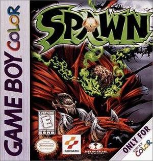 Spawn (1999 video game) - Image: Spawn GBC