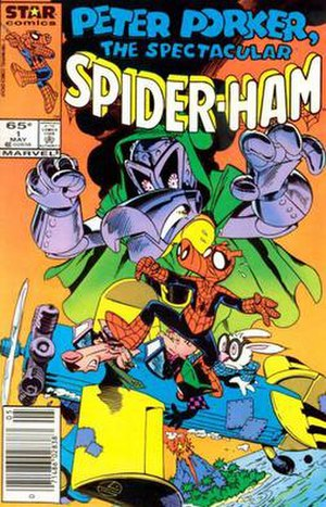 Star Comics - Image: Spider Ham 1