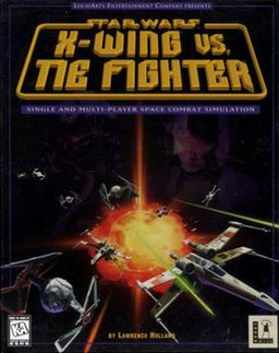 X-Wing vs. TIE Fighter box art