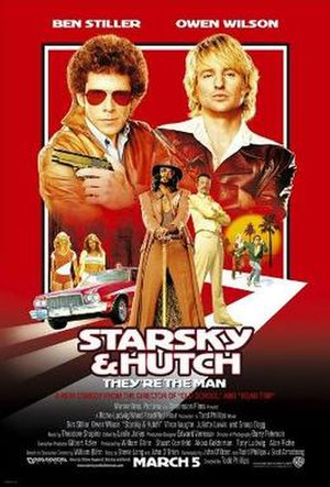Starsky & Hutch (film) - Theatrical release poster