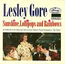 Sunshine, Lollipops, and Rainbows single cover.jpg